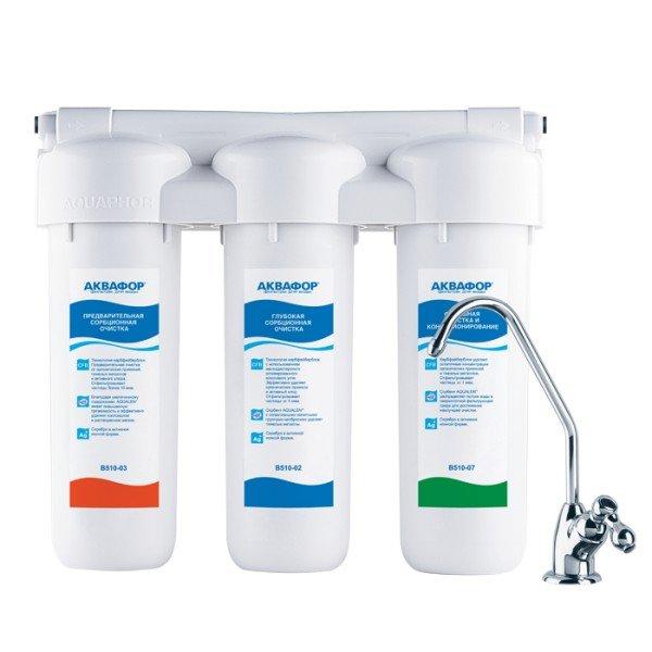 Фильтр для воды AKVAFOR Trio