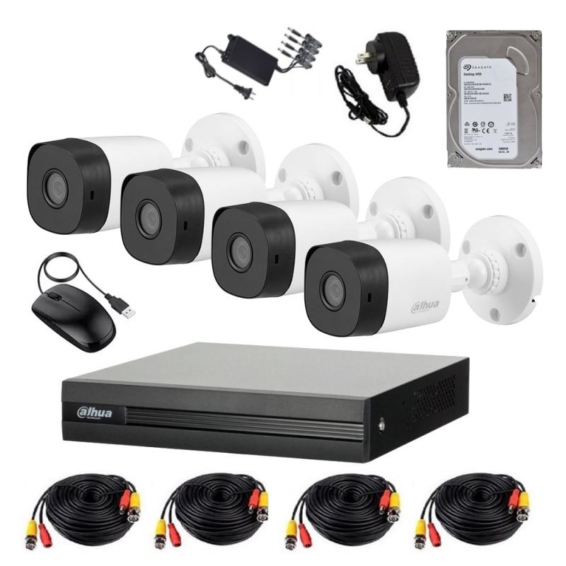 4x HD-CVI Çöl Kamera