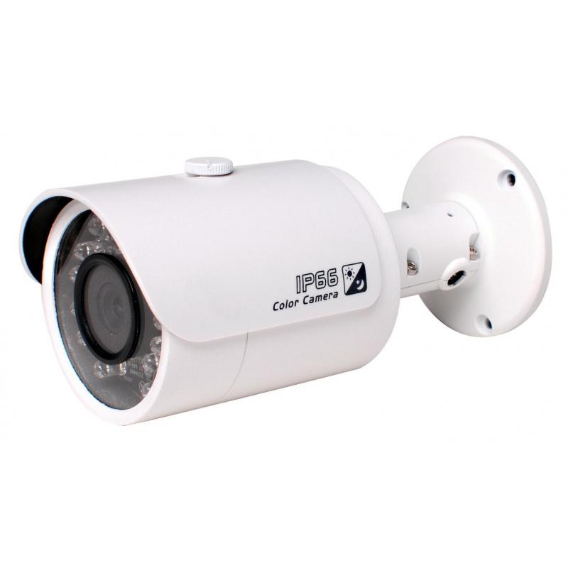 Su keçirməz HDCVI IR-kamera1080P 2.4Megapixel (HAC-HFW2220S)