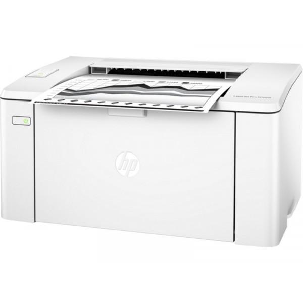 Принтер черно-белый лазерный HP LaserJet Pro M102w