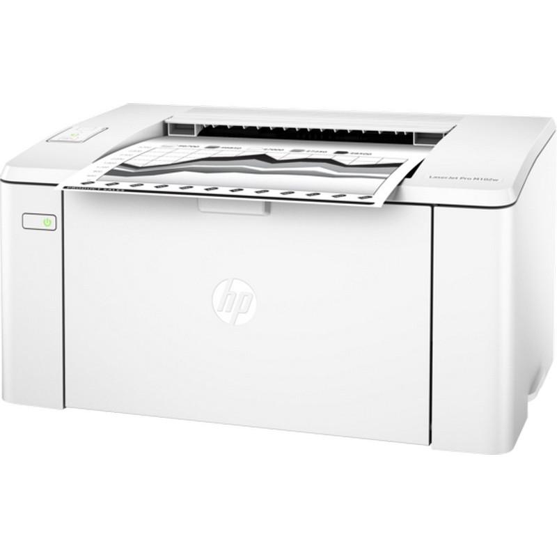 Ağ-qara lazer printeri HP LaserJet Pro M102w