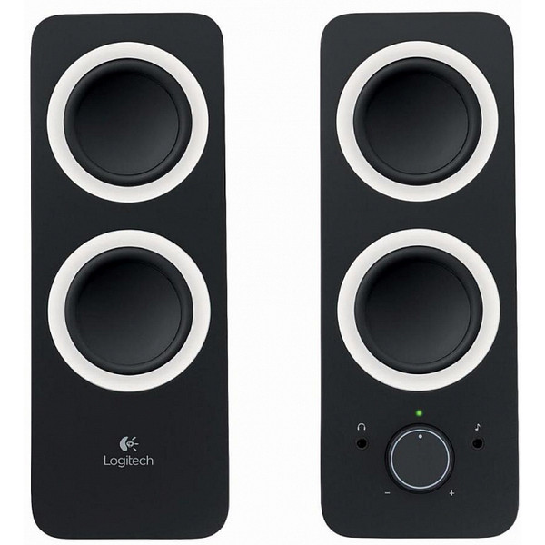 Akustik stereosistem Logitech Audio System Z200 MIDNIGHT BLACK (980-000810)