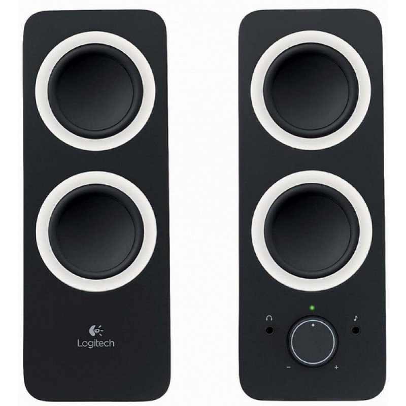 Акустическая стереосистема Logitech Audio System Z200 MIDNIGHT BLACK (980-000810)