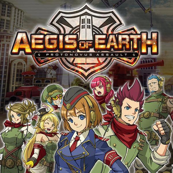 Игра PS4 - Aegis of Earth
