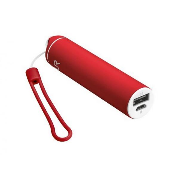 Портативное зарядное устройство (Power Bank) Trust Stilo PowerStick 2600 - red (20693)