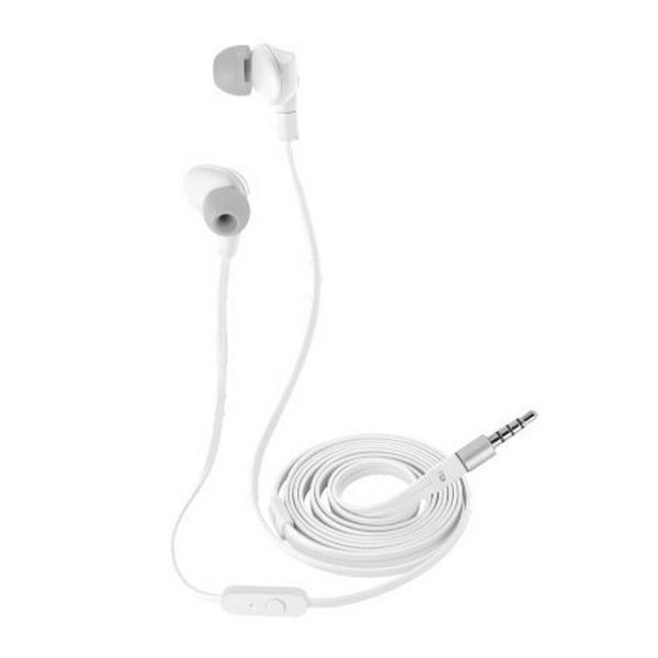 İşıq əksetdirici qulaqlıq Trust URBAN Aurus Waterproof In-ear Headphones - white (20835)