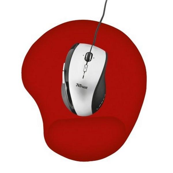 Siçan üçün xalça Trust Gel Mouse Pad - red (20429)