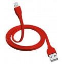Lightning и USB кабель Trust URBAN Flat Lightning Cable 1m - red (20129)