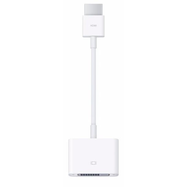 DVI адаптер Apple HDMI to DVI Adapter (MJVU2)