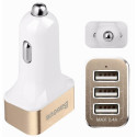 Avtomobil üçün enerji yığma cihazı Baseus Smart Voyage 3 USB white