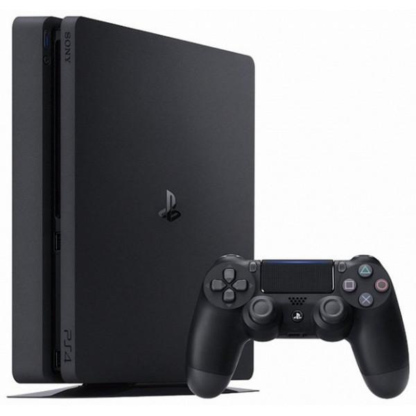 Oyun konsolu Sony PS4 Slim 500GB Black