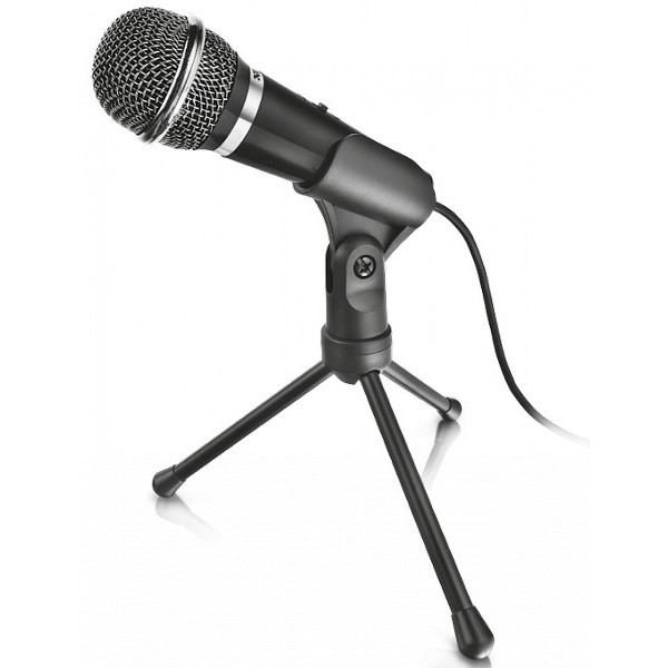 Mikrofon TRUST STARZZ ALL-ROUND MICROPHONE FOR PC AND LAPTOP (21671)