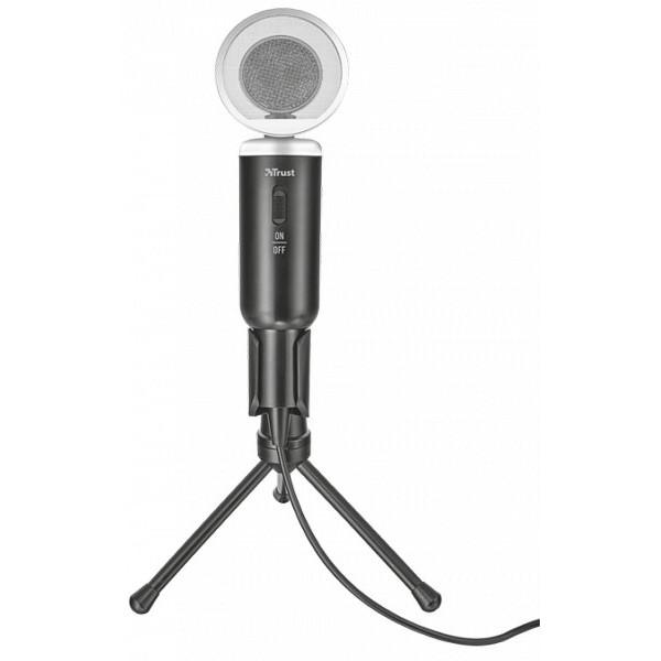 Masaüstü mikrofon TRUST MADELL DESK MICROPHONE FOR PC AND LAPTOP (21672)