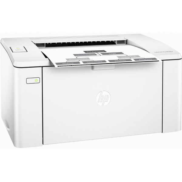Принтер черно-белый лазерный HP Laserjet Pro M102a