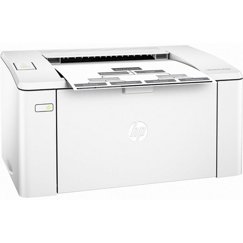 Ağ-qara lazer printeri HP Laserjet Pro M102a