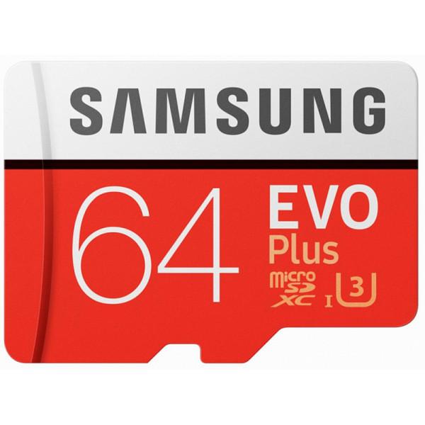 Yaddaş kartı Samsung microSDHC EVO Plus 64GB (MB-MC64GA)