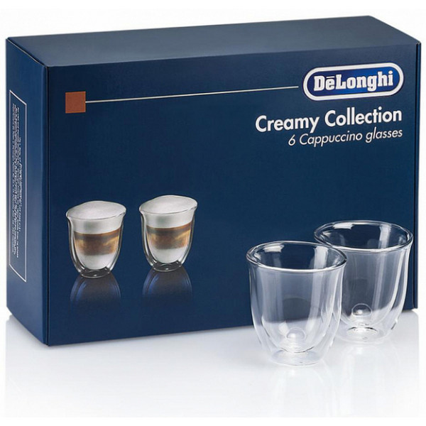 Stəkan dəsti DeLonghi Creamy Collection 6 Glasses (DLSC301)