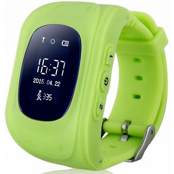 Ağıllı saat Wonlex Q50 Green