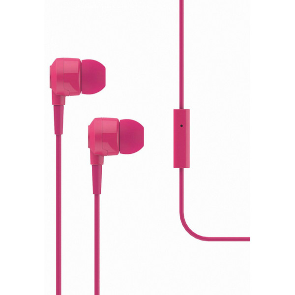 Qulaqlıq T-Tech J10 In-Ear Headphone with Microphone 3.5mm pink