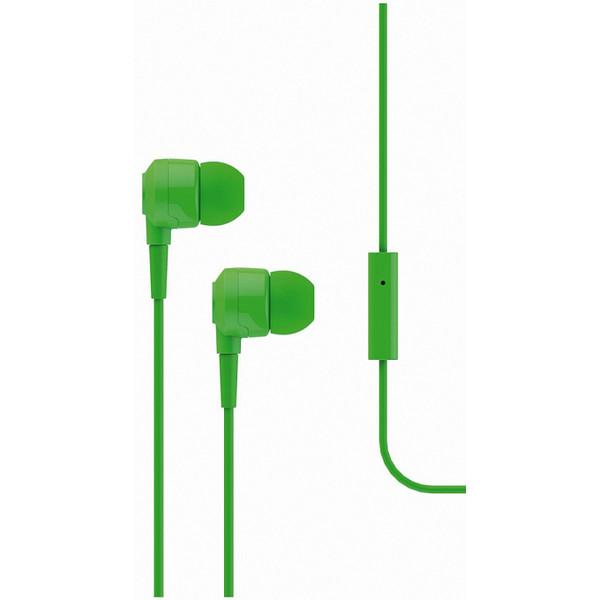 Qulaqlıq T-Tech J10 In-Ear Headphone with Microphone 3.5mm Green