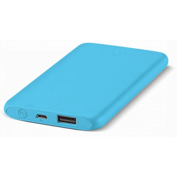 Портативное зарядное устройство (Power Bank) Ttec Powerslim 5000mah Blue