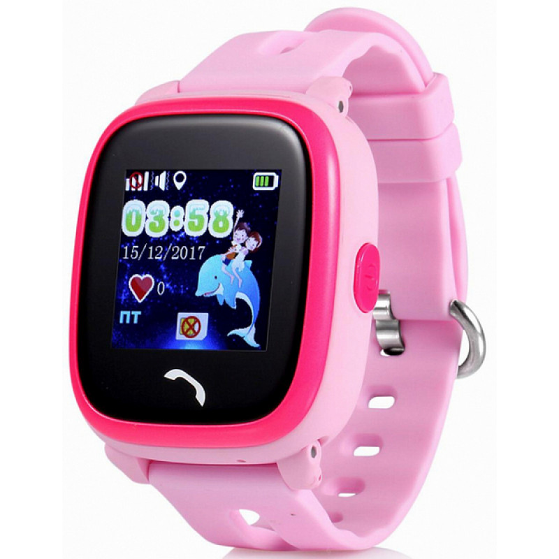Telefon-saat Wonlex GW400S Pink