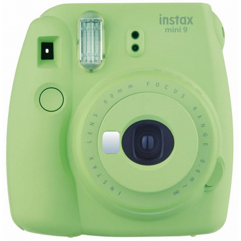 Ani çap fotoaparatı Fujifilm Instax mini 9 Lum Green