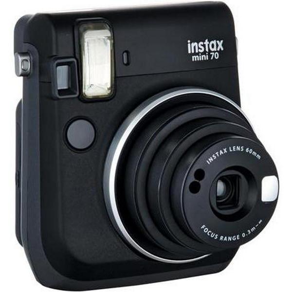 Фотоаппарат моментальной печати Fujifilm Instax mini 70 Black EX DN