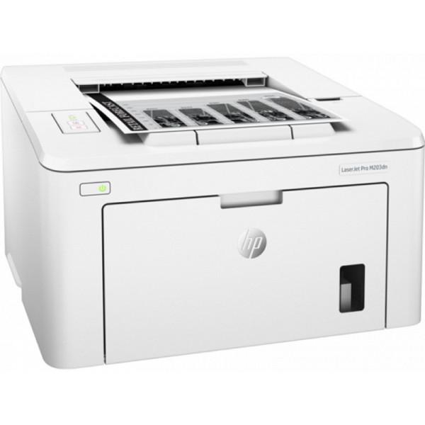 Принтер черно-белый лазерный HP LaserJet Pro M203dn