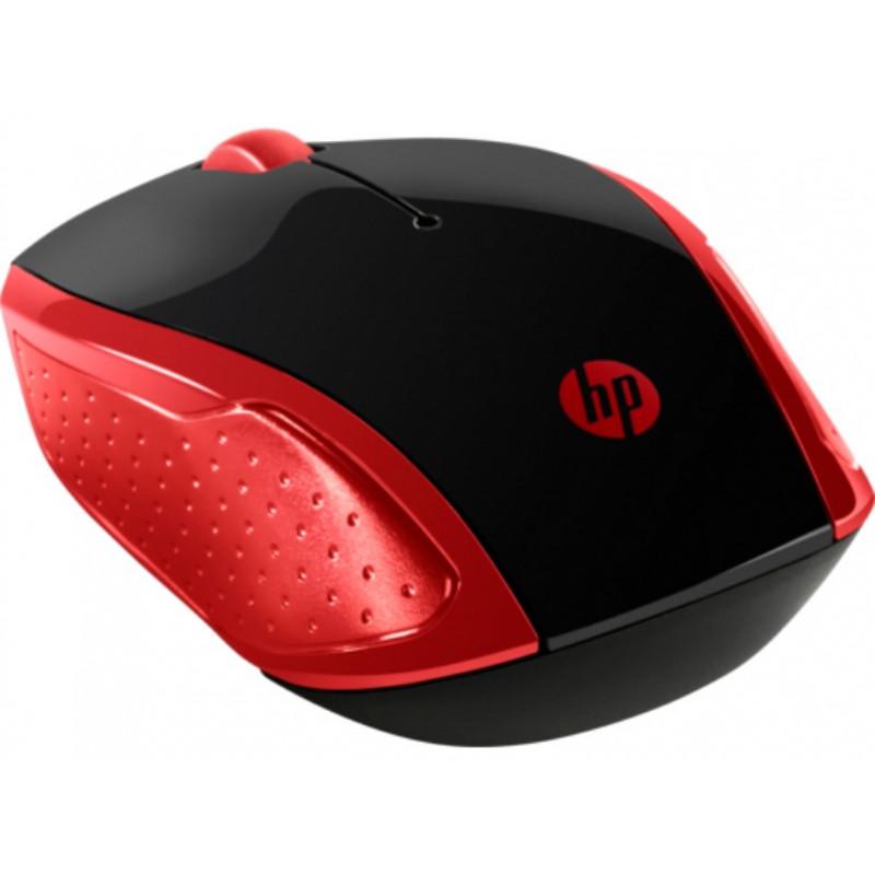 Беспроводная мышь HP 200 Empress Red Wireless Mouse (2HU82AA)