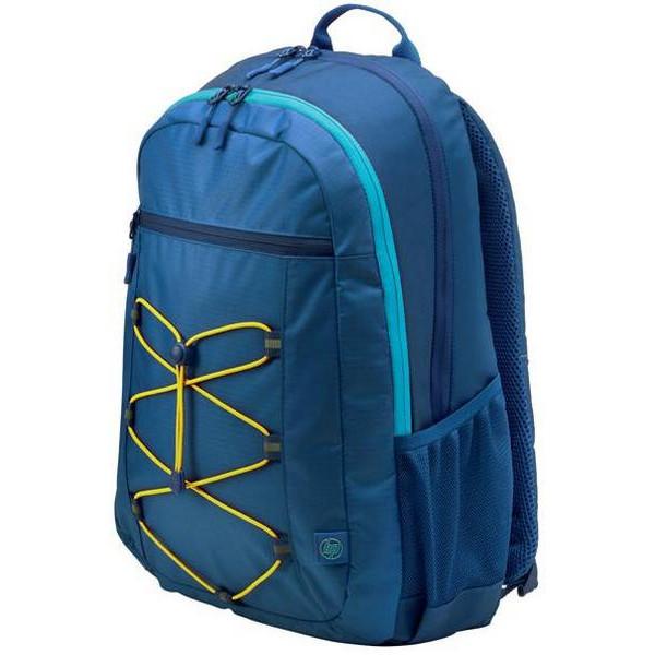 Noutbuk üçün bel çantası HP 15.6 Active Blue/Yellow Backpack (1LU24AA)