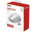 Беспроводная мышь Trust Yvi Wireless Mouse - white (22335)