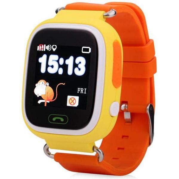 Смарт-часы Wonlex GW100 Yellow