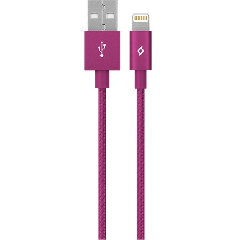Lightning кабель Ttec AlumiCable Lightning Charge/Data Cable Pink MFi