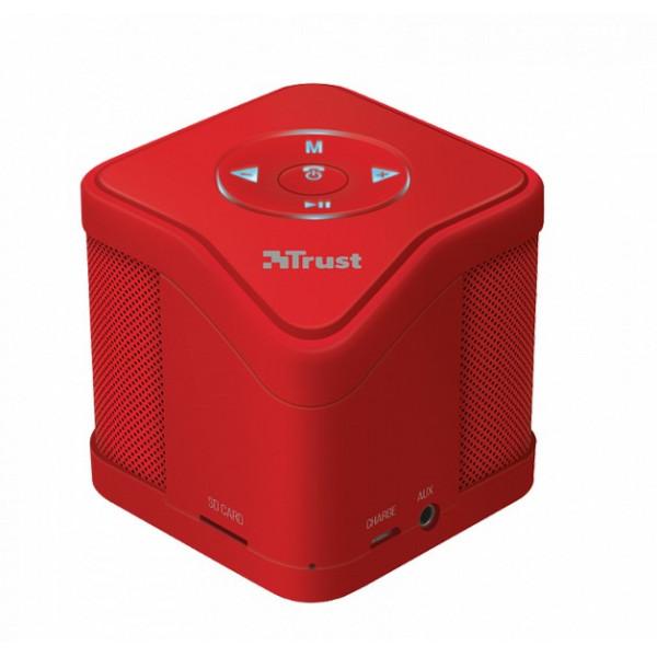 Portativ Akustik Trust Urban MUZO Wireless Speaker - red (21703)