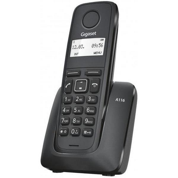 Ev telefonu Gigaset A116 Rus Black