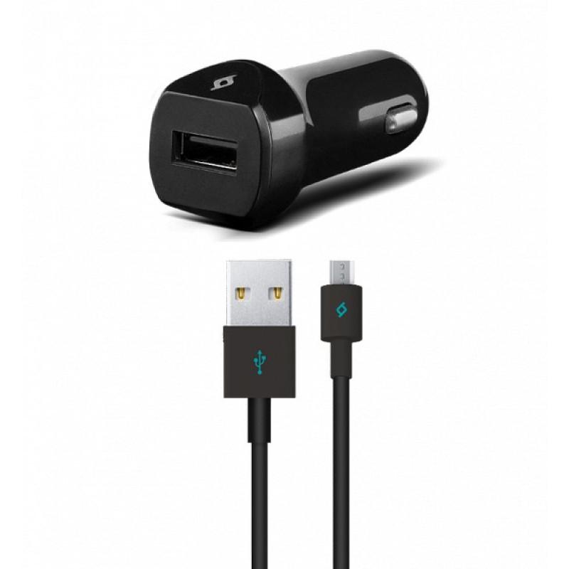 Автомобильное зарядное устройство Ttec SpeedCharger USB In-Car Charger, 2.1A, Universal Black