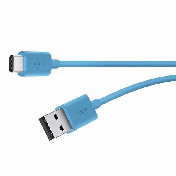 USB-кабель Belkin USB 2.0 (AM/microB) Mixit 2 м Blue (F2CU012bt2M-BLU)