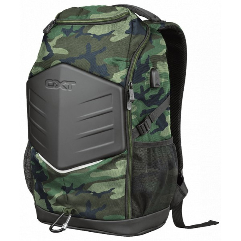 "Noutbuk üçün bel çantası Trust GXT 1255 Outlaw 15.6"" Gaming Backpack - camo (23302)"