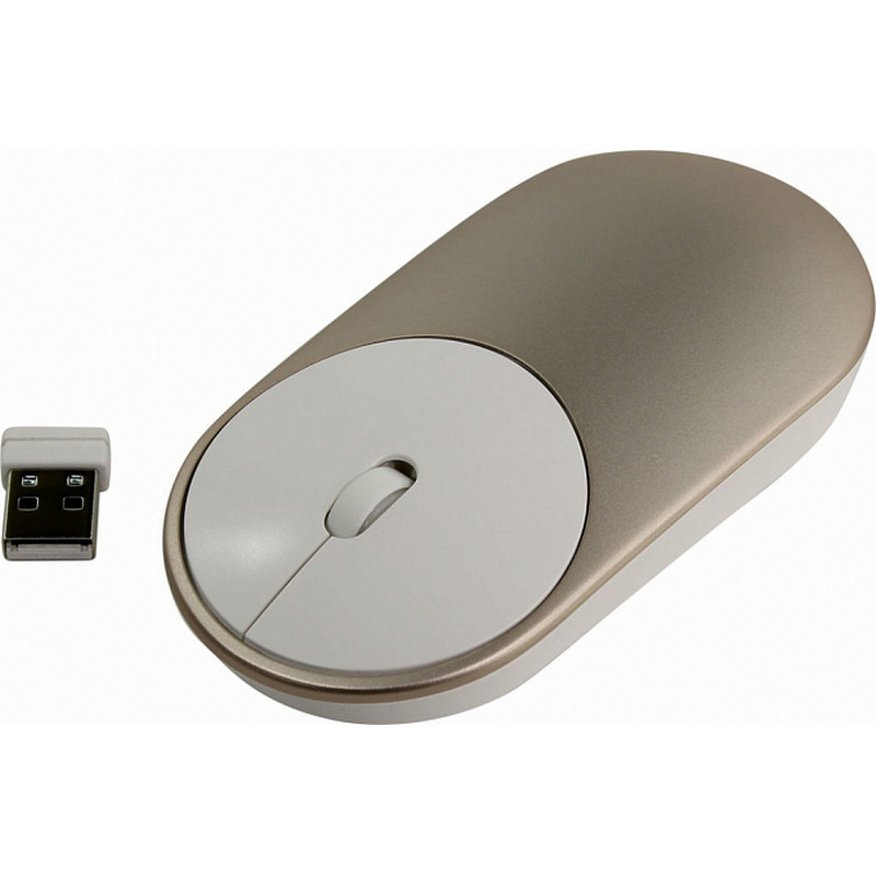 Беспроводная мышь XIAOMI Mi Portable Mouse Gold