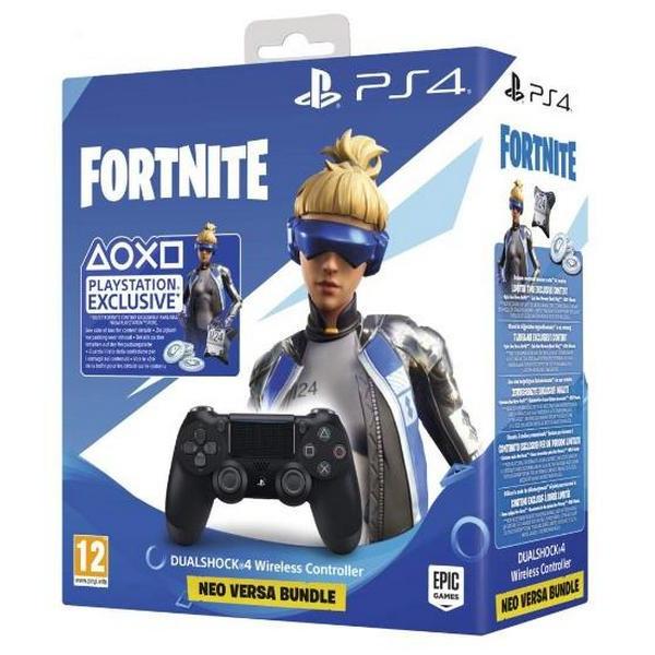 Игровой манипулятор Sony PS4 Controller Black (Fortnite Neo Versa Bundle)