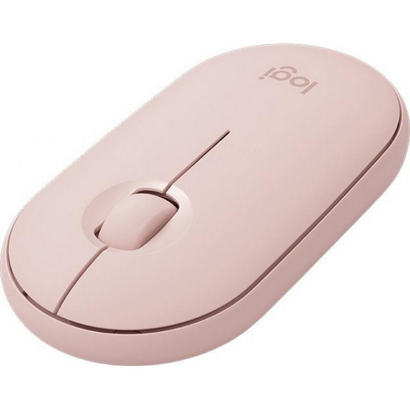 Беспроводная мышь Logitech Wireless Mouse Pebble M350 Rose