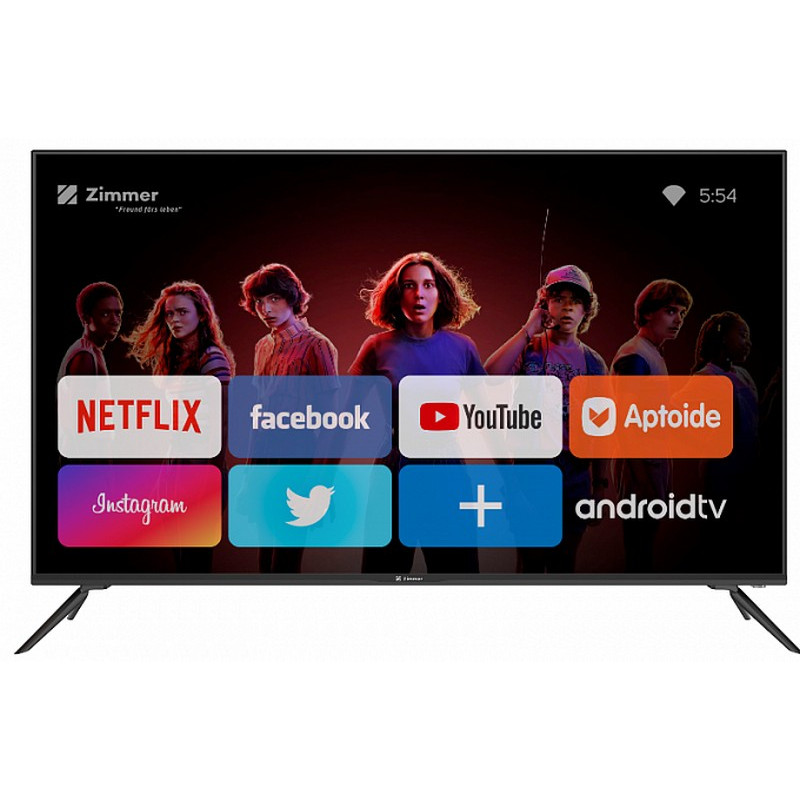 4K UHD Телевизор 50 Smart TV Zimmer ZM-S50UA01B