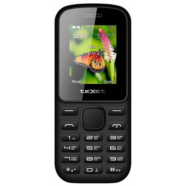 Телефон Texet TM-130 Black