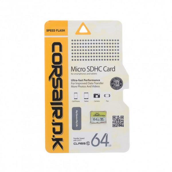 Yaddaş kartı Corsair Micro SD 64GB