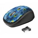 Беспроводная мышь Trust Yvi Wireless Mouse - peacock (23388)
