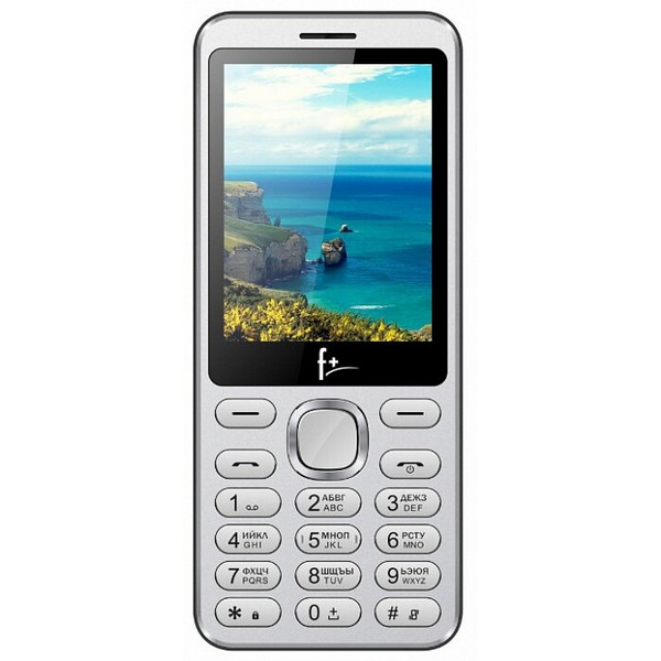 Telefon Fly F plus S286 Silver
