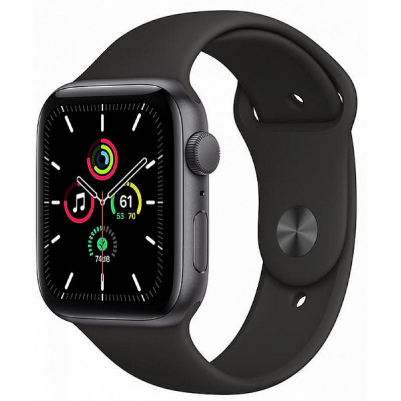 Ağıllı saat Apple Watch Series SE 44mm Space Grey Aluminium Case with Sport Band